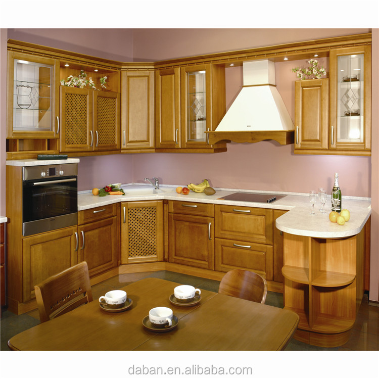 Asian type and ghana kitchen cabinet and other country for Kitchen set kayu