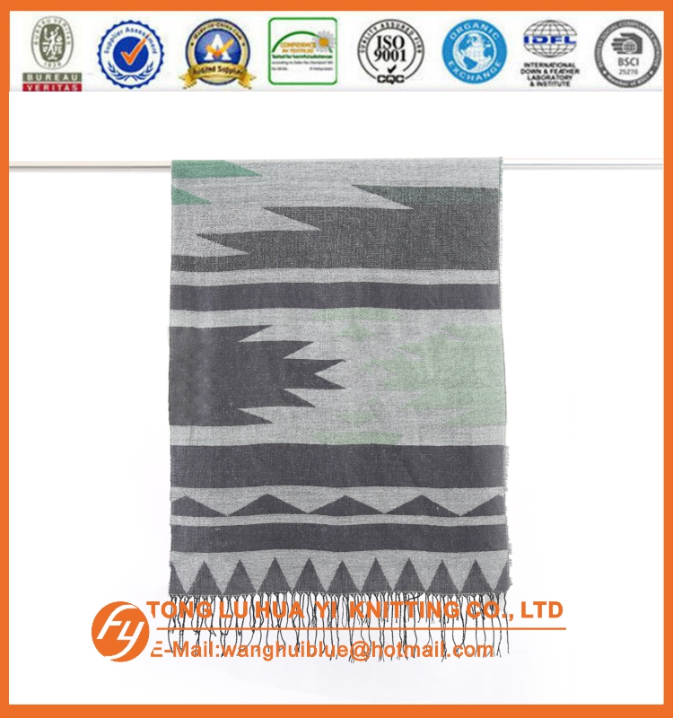 Audited Factory woven 100% acrylic wholesale fashion accessories