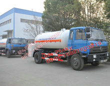 10000L Mobile LPG Filling Gas Station Truck LPG GAS Bowser Tanker Cheaper Price