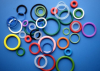 Lovely colored molded rubber sealing o-rings