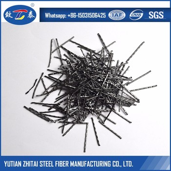 Uniform Multi-directional Round Crimp Steel Fiber In Concrete Reinforcement
