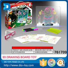best selling christmas gifts 2016 electric 3D magic drawing board with CE certificates