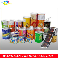 FDA grade ! Plastic laminated chip packing film roll for pet food ,free design