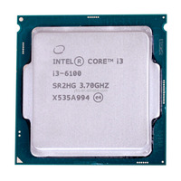 High Performance i3 6100 Laptop CPU