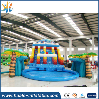 New design giant inflatable water park, inflatable floating water park