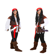 Fashion Style Carnival Costume Cosplay Party Clothing Pirate Costumes For Adult Mens