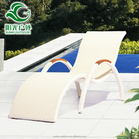Professional manufactory poland style rattan sun seating lounge furniture