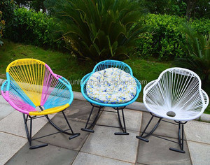 New arrival acapulco wicker chair candy outdoor furniture balcony rattan chair