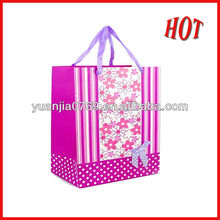 HOT! customized pink shipping paper bag in 2012