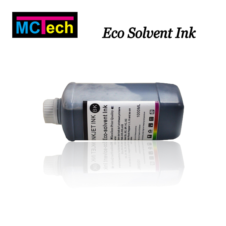 Outdoor eco solvent ink for epson dx5 dx6 dx7 print head waterproof inkjet printer ink