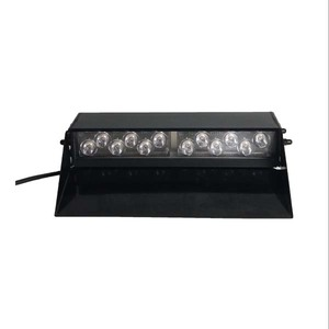 UnionTech red blue amber led strobe light bar