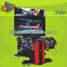GM3235 electronic shooting range,gun shooting simulator,electronic simulator game machine