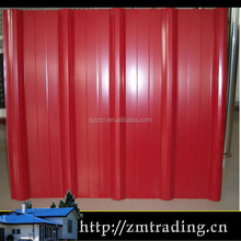 red color steel roof tile for house