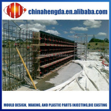 plastic templates/ plastic formwork for concrete