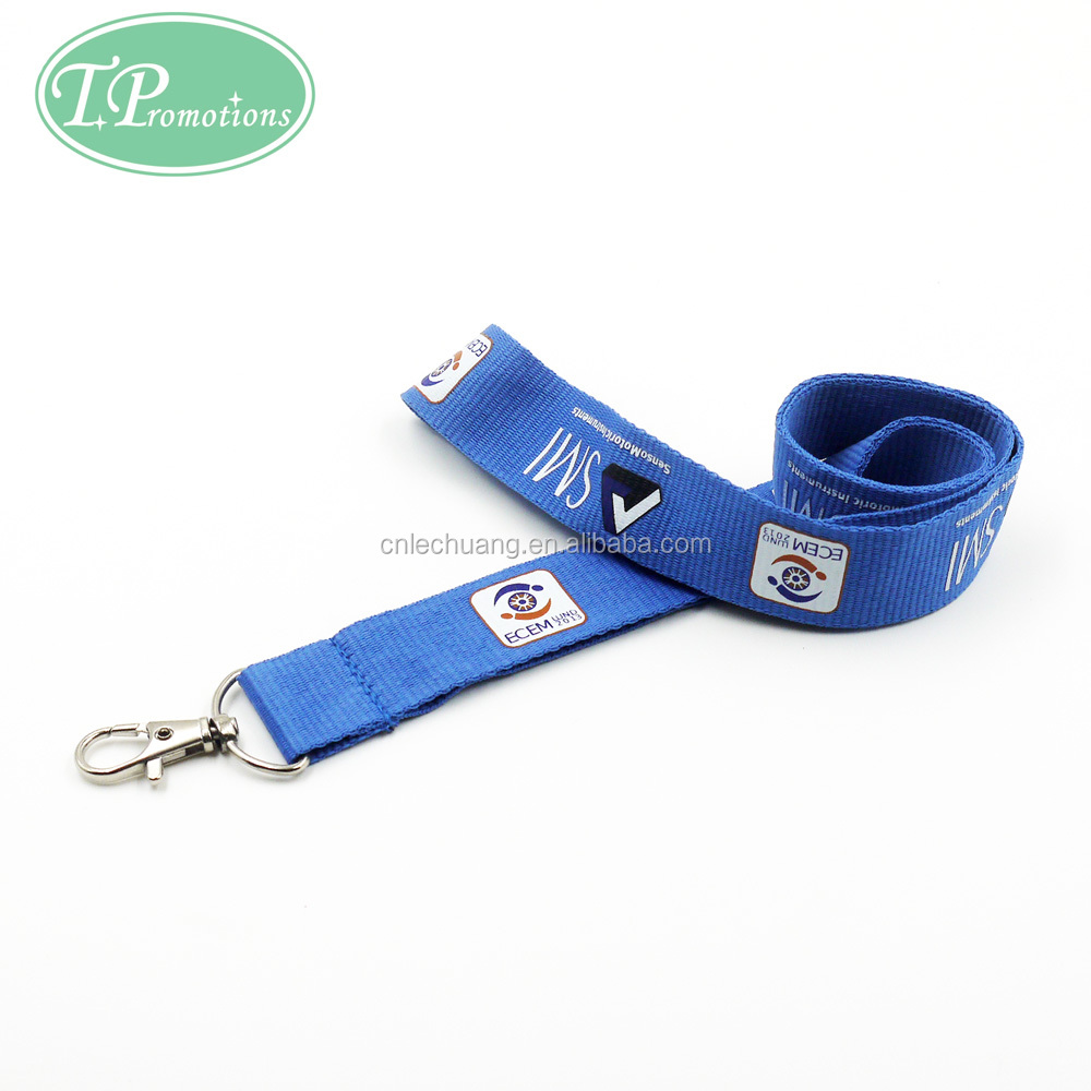 Custom Print Logo Lanyard for Sales Promotion