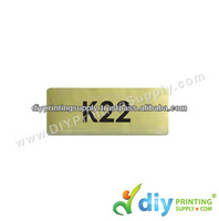 Name Sticker (Gold) (22mm X 9mm) (7,200pcs)