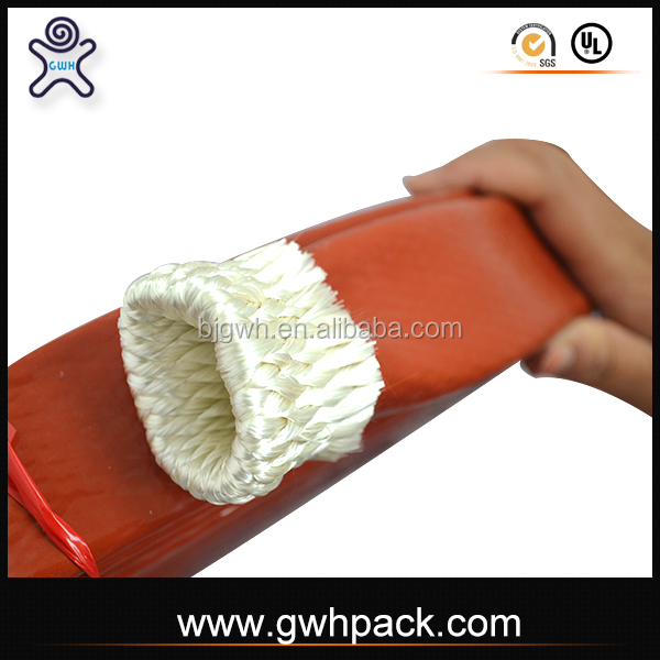 Great Pack high temp silicone rubber fire resistant insulation cable fire sleeve ID35mm