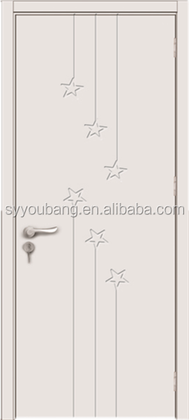 cheap price interior door design mdf pvc door
