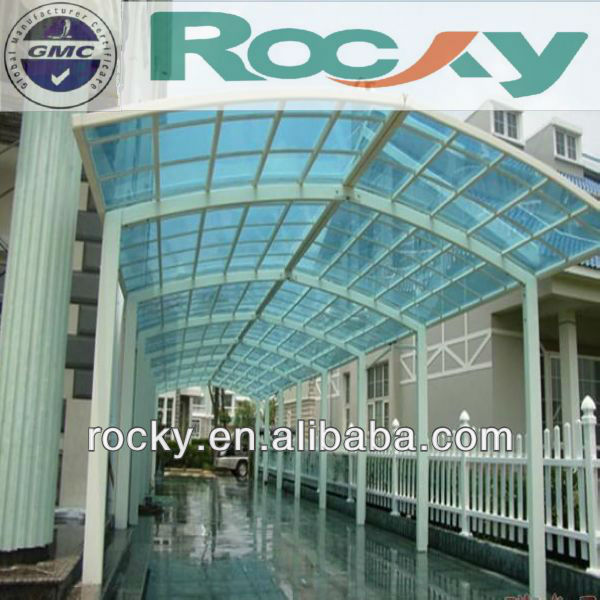 5mm Tempered Glass Awnings Canopies