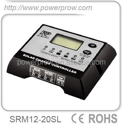 Li-ion 12V 20A Solar Charge Controller with LCD display