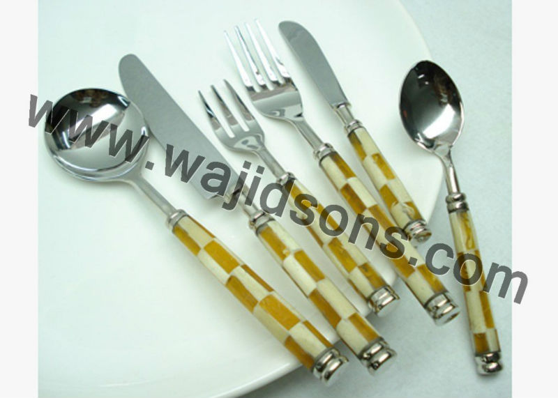 3pcs Spoon,Fork And Knife Set