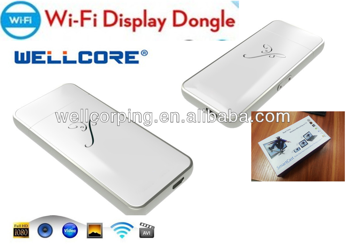 Actions EZCast EZMirror WIFI display dongle hot selling ez cast tv/ Best ipush wifi display dongle