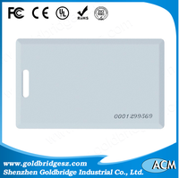 Wholesale credit cards with visa rfid chip tk4100 warranty sample company employee id card format
