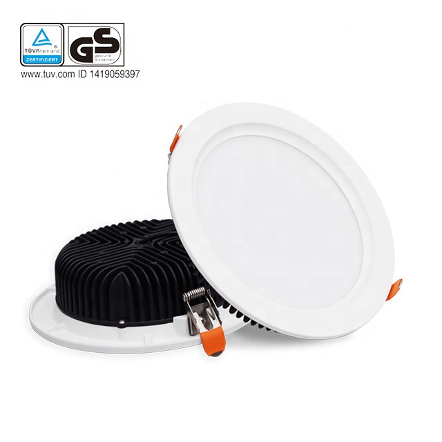 Stock in EU 120lmw 24W 30W 36W 6 inch 8 inch indoor lighting smd LED <strong>downlight</strong>