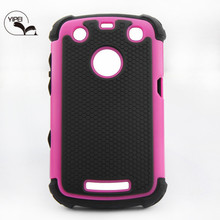 For Blackberry 9360 Back Cover for Mobile Phone with 3 in 1