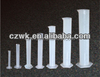 laboratory plastic graduated cylinder, plastic school lab equipment