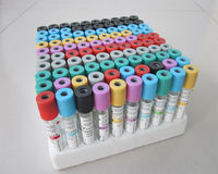 Lab Supplies Vacutainer Blood Collection Tubes With Heparin Lithium