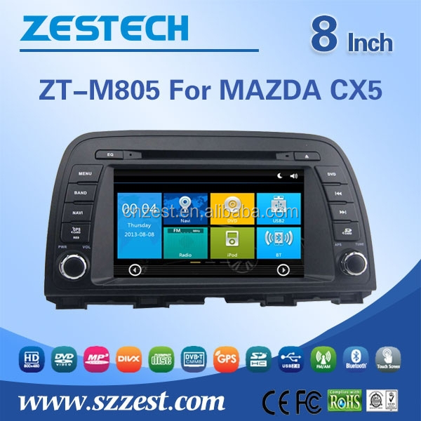 car multimedia for Mazda CX 5 car audio player with buletooth car gps am/fm RDS Radio function 8 inch