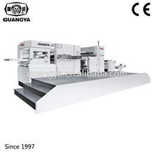 guangya industrial auto sticker die cutting punching machine for paper bag TYM1050