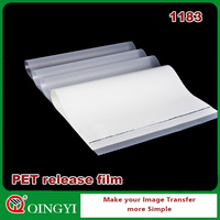 Qingyi PET release film for screen and offset printing