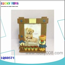 New baby pictures Products 7'' Lovely Cartoon Bear Photo Frame nice gift toy funny picture frame