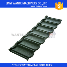 2017 Wnate Brand bond metal stone coated roof tile with new design type