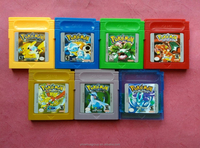 Retro Games for nintendo pokemon game boy color gbc