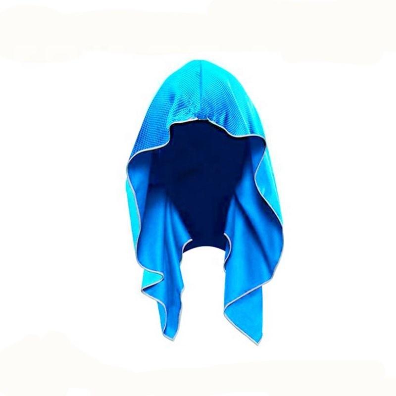 Sports Cooling Towel with Hoodie Cooling Hoodie