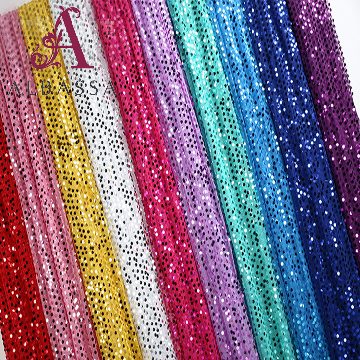 wholesale hotel hall banquet party decoration sequin fabric for wedding decor