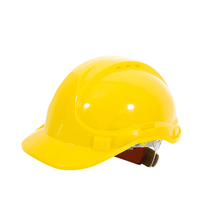 T128 New Head Air Conditioned Hard Hat CE EN397 PE/ABS Material Helmet Safety