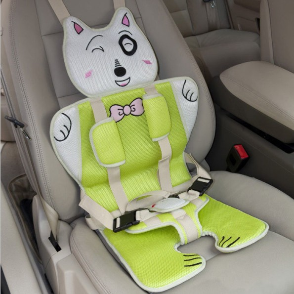 Unique Simple Strap Style Safety Baby Car Seat