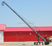12 Meters Video Camera JIb Crane With Motorized Head and Servo Motor