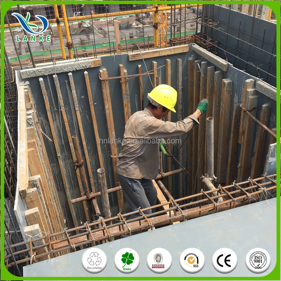 2017 Hot New slab concrete wall plastic forms for construction