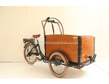 best hot selling high quality van cargo tricycle/cargobike for sale bakfiets