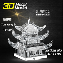 New product Adult kids 3d model famous buildings educational toys gift 3d puzzle