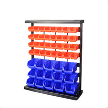 Industrial Warehouse stackable plastic Storage bins Industrial heavy duty metal storage bin for sale