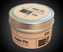 Apple Pie Luxury Pure Essential Oils Hand Poured Scented Soy Wax Candle