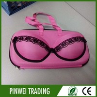 bra shaped bag/custom design bra bag