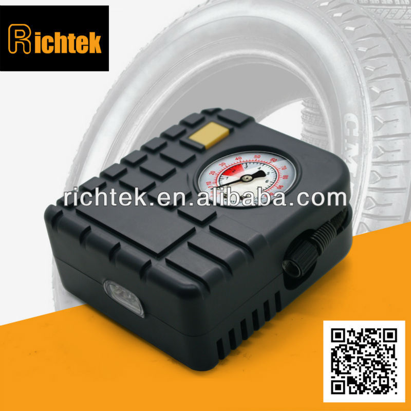 Popular classical air compressor/Mobile flat tire pump/Mini flat tire pump with low price(RCP-C43L)