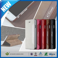 C&T 2015 New hot products wallet style magnetic flip leather case for iphone 6 plus